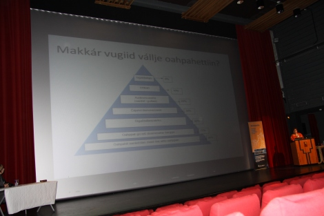Málátvuomi konferánsa 2013- Inger Marie G. Eira